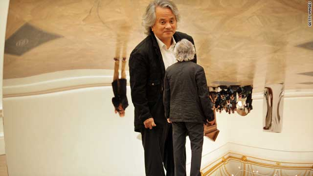 Indian-born sculptor Anish Kapoor is one of the most renowned contemporay artists.