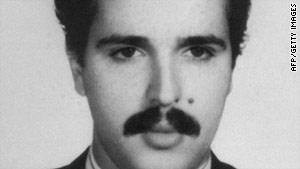 File picture taken in the 1990s shows Ali Vakili Rad.