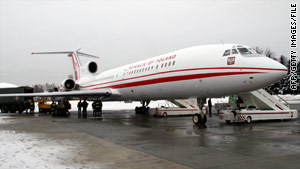Experts say the crew of the Tupolev-154 did not have updated weather information.