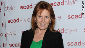 Sarah Ferguson, the Duchess of York,  is the ex-wife of Prince Andrew, a U.K. trade envoy.