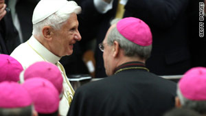 The women have urged the pope to revisit what they describe as a man-made law.