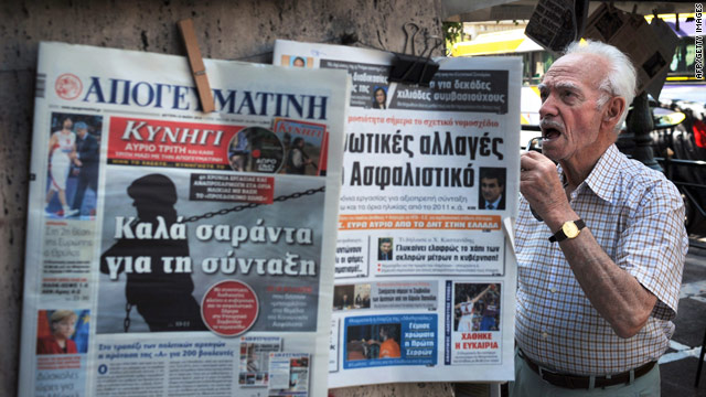 Greek journalists will strike for two days from Thursday to protest against the government's austerity reforms.