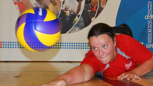 "Martine Wright first sampled sitting volleyball at a ""taster"" day for disabled sports events."