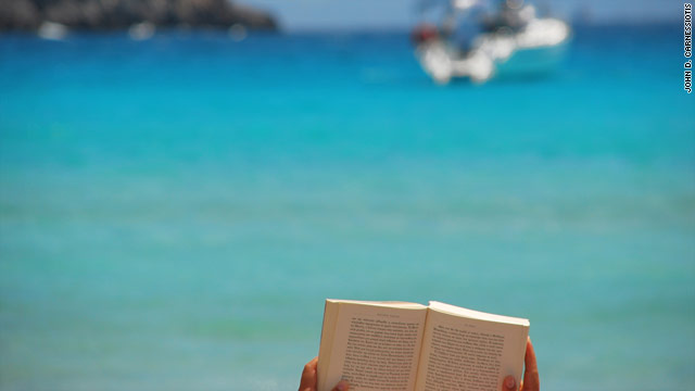 A good book is the perfect companion on holiday. We've compiled a list with themes around adventure and the sea. Photo courtesy of John D. Carnessiotis, http://www.flickr.com/photos/aster-oid