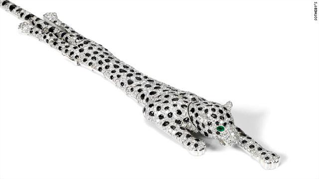 This 1952 onyx and diamond Cartier bracelet is estimated to sell for up to £1.5 million ($2.3 million).