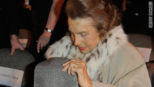 L'Oreal heiress Liliane Bettencourt is France's richest woman