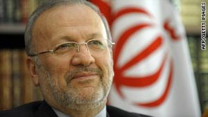 Iranian Foreign Minister Manouchehr Mottaki has announced Tehran's planned letter to the U.N. nuclear watchdog.