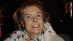 French police are investigating the finances of Liliane Bettencourt, France's richest woman.