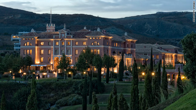 This is the Hotel Villa Padierna in Marbella, Spain. Michelle and Sasha Obama are expected to arrive here Wednesday.