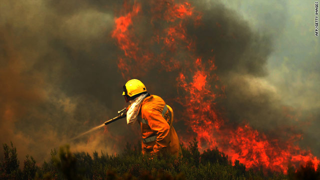 Almost 9,000 forest fires have burned in Portugal this year.