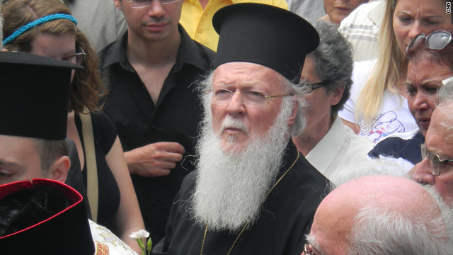 Patriarch Bartholomew is presiding over what appears to be a dying community.