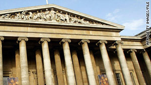The British Museum in London, England, was evacuated on Saturday, a spokeswoman said.