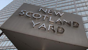 London's Metropolitan Police say a 35-year-old man was arrested on suspicion of conspiracy to defraud bookmakers.