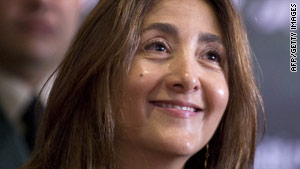 Ingrid Betancourt returned from France to visit Colombia in July.