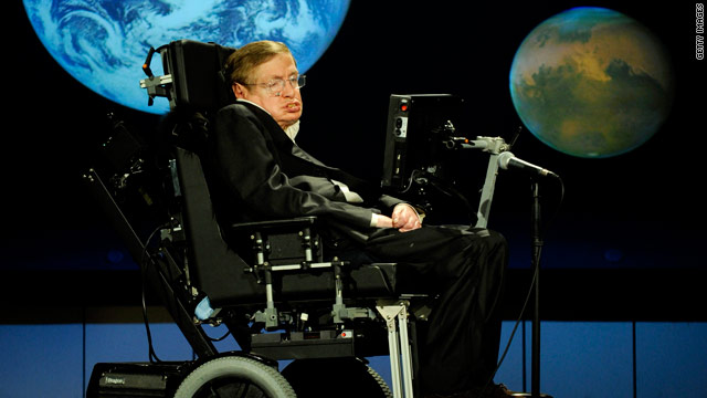 "British scientist Stephen Hawking's book is an attempt to answer ""the Ultimate Question of Life."""