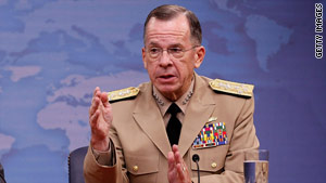 Chairman of the U.S. Joint Chiefs of Staff, Adm. Mike Mullen, said the U.S. will not transport weapons through Turkey.
