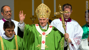 Pope Benedict XVI will visit the United Kingdom next week.
