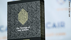"The Quran is ""in the hearts and minds of every Muslim,"" Afghan President Hamid Karzai said."