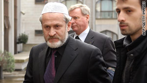 Akhmed Zakayev, pictured in 2006, is head of Chechnya's rebel government in exile.