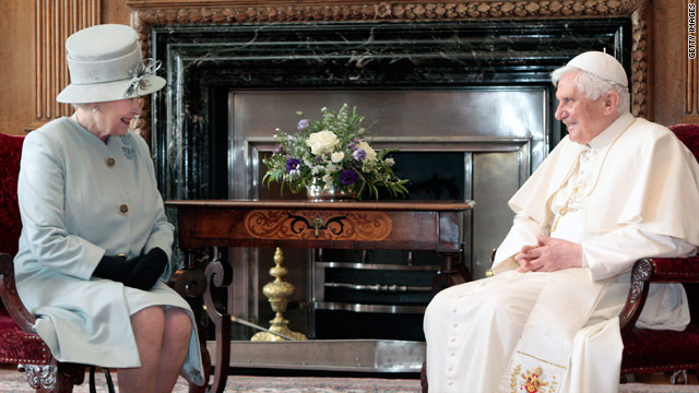 The Queen and Pope Benedict had a great deal of history to reflect on during his papal visit.