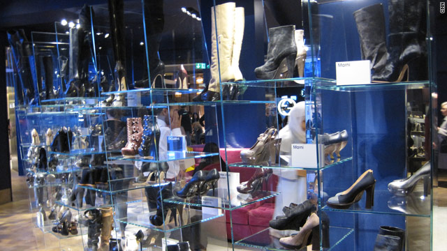 Around 5,000 shoes are on display in Selfridges' new Shoe Galleries, spread over 35,000 square meters.