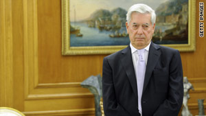 "Mario Vargas Llosa's novels include ""The Green House"" and ""The War of the End of the World."""
