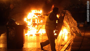 The killing of the boy in December 2008 sparked nationwide riots that continued for several days.