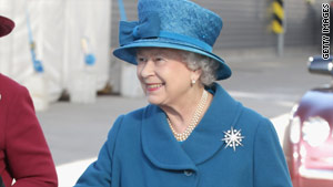A spokesperson said the queen is aware of the difficult economic circumstances facing Britain.