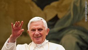 Last month, Pope Benedict XVI told the director of the Vatican Bank that he trusts him and appreciates his work.