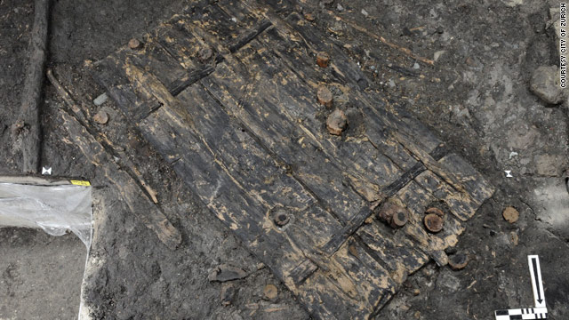 At more than 5,000 years old, the door is one of the oldest ever found in Europe.