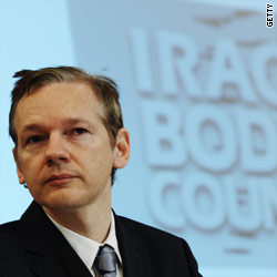 WikiLeaks founder Julian Assange spoke at a press conference in London Saturday