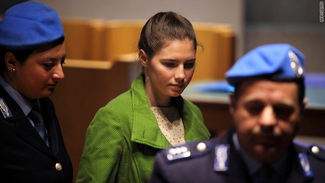 Amanda Knox - photographed during her trial in December 2009 in Italy - was ordered to face a new trial on slander charges.