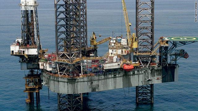 The oil rig, located off the southern coast of Nigeria at Okoro field, is run by Transocean.