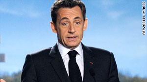 Nicolas Sarkozy's government has insisted the adjustments are necessary in order to save money.
