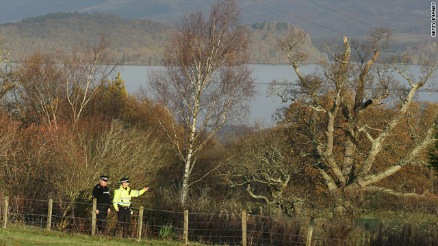 Police and bomb disposal experts are investigating possible terrorist activity after an explosion in Garadhban Forest, Scotland.
