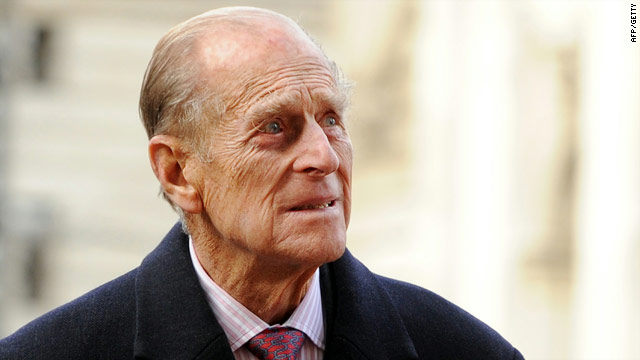 Prince Philip arrives at Westminster Abbey in London on Tuesday -- he is set to scale back on his official duties next year.