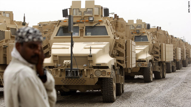 Russia will now allow Afghan-bound NATO armored vehicles passage. The main route used until now was through Pakistan.