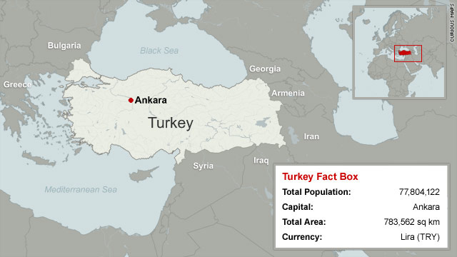 Map of Turkey - CNN.com