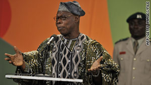 There are allegations the bribes went all the way to the top, possibly to then-President President Olusegun Obasanjo.