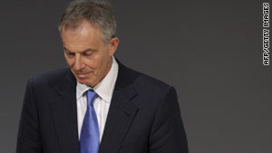 Former British Prime Minister Tony Blair gave evidence before a committee probing the Iraq war in January.