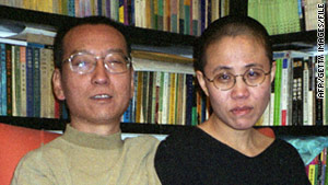 Neither Liu Xiaobo nor his wife, Xia, was allowed to travel to Norway to accept the Nobel Peace Prize.