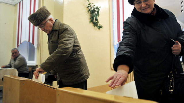 Belarusians cast their vote in Minsk on Sunday. The race will determine the political fate of Alexander Lukashenka.