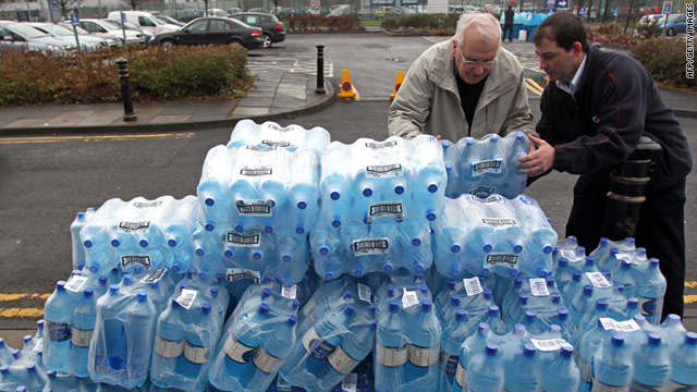 A week after the crisis began, thousands of people in Northern Ireland still do not have running water in their homes.