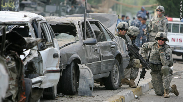 For the first time since the Iraq war began in 2003, no U.S. troops were killed in battle in December.