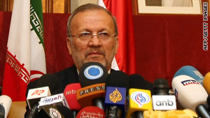 Word of the planned drill followed foreign minister Manounchehr Mottaki issuing an ultimatum to the West.