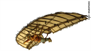 In 9th century Spain, Muslim inventor Abbas ibn Firnas designed a flying machine -- hundreds of years before da Vinci drew plans of his own.