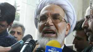 "Mehdi Karrubi has denounced ""tyranny, arrests and imprisonment of journalists."""