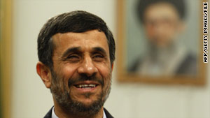 President Mahmoud Ahmadinejad has isolated Iran from the international community