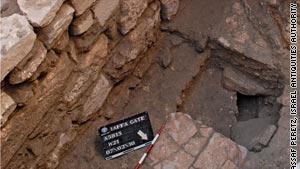 Israeli archaeologists say they've found a 1,500-year-old road, 4.5 meters under the current level of streets in Jerusalem's Old City.