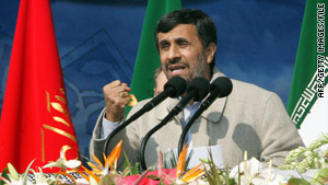 Iranian President Mahmoud Ahmadinejad has appeared to float the idea of a prisoner swap regarding the three Americans.